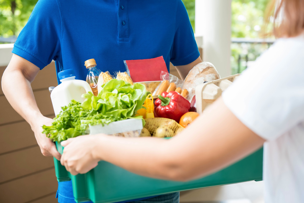 grocery stores, delivery